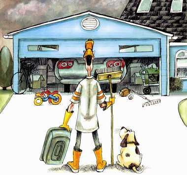 lär dig rengöra garaget samt organisera på bästa sätt